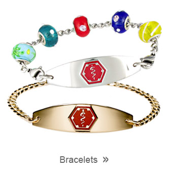 Medical ID Bracelet Collection