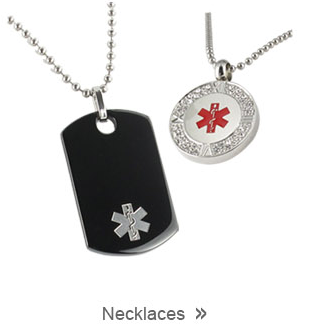 Medical ID Necklace Collection