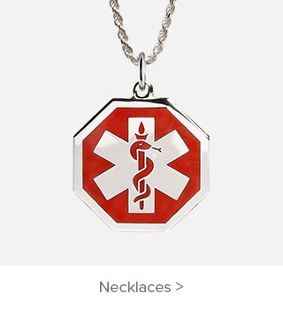 Best Selling Medical ID Necklaces