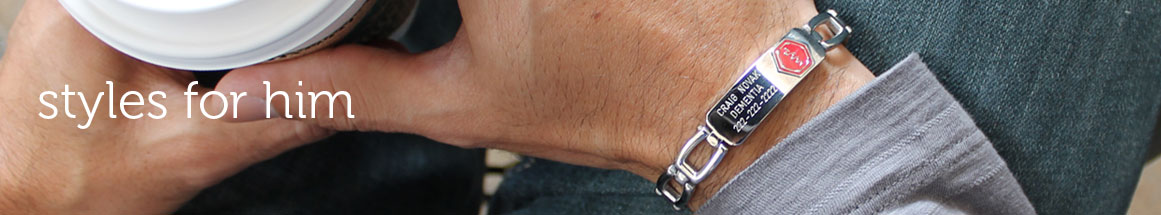Medical Alert Bracelets For Men