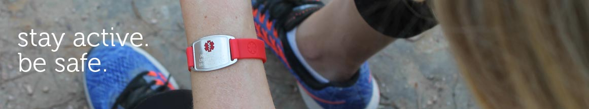 Sport Medical ID Bracelets