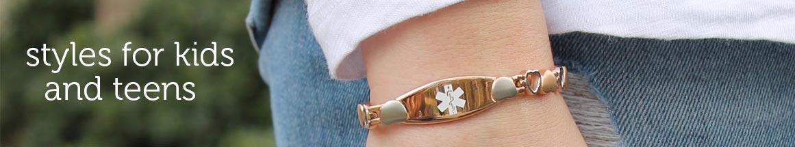 Medical ID Bracelets for Kids