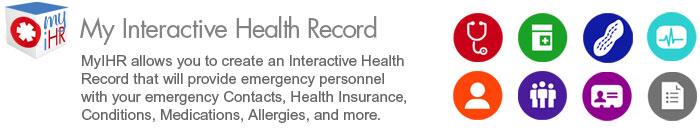 My Interactive Health Record Med Alert Bracelets