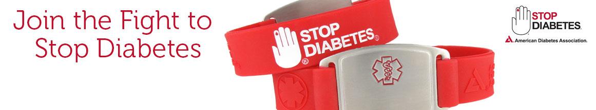 Stop Diabetes Bracelets