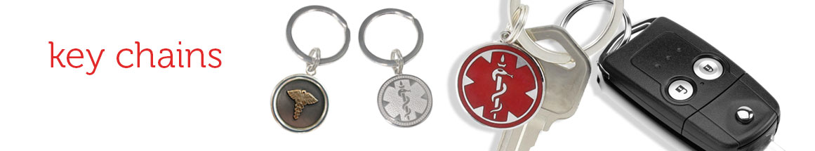 Medical ID Key Chain Collection
