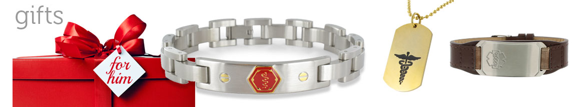Medical ID Bracelets - Gift Ideas for Him
