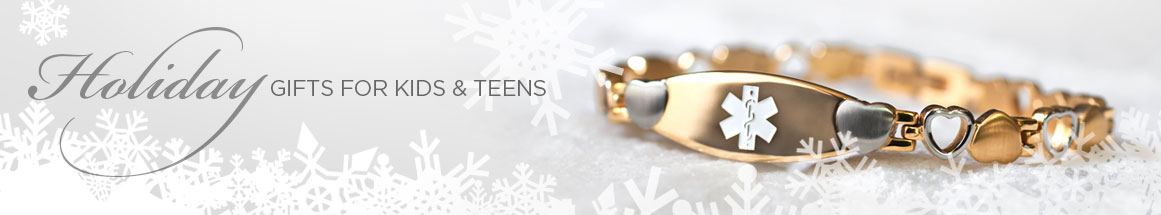 Medical ID Jewelry - Gift Ideas for Kids and Teens