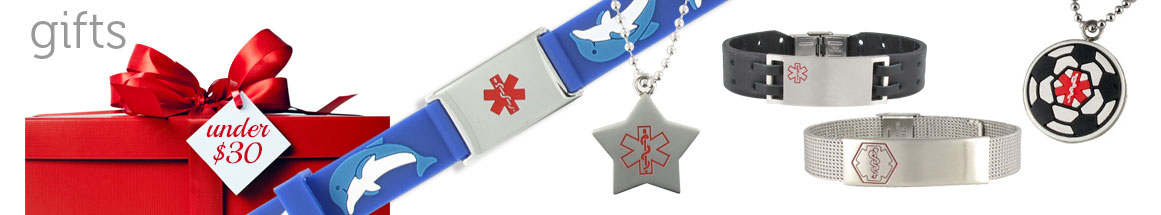 Medical ID Gifts Under 30