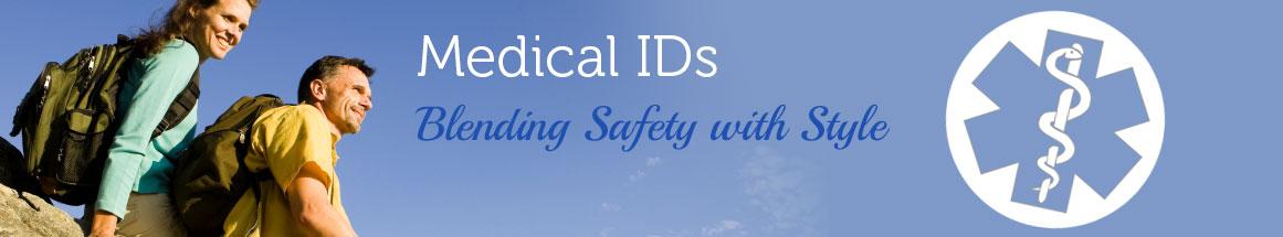 Medical ID Alert Bracelets and Necklace Promotions