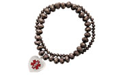 Allure Bracelet Red in Chocolate