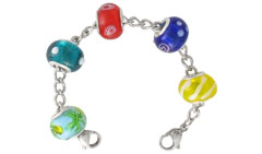 Charm Bead Shimmer Chain
