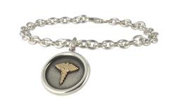 Odyssey Round Medical ID Bracelet