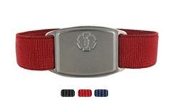 Stainless Steel Small Sportband Flex Active Allergy Bracelet