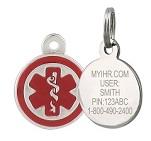 MyIHR - Interactive Health Record with stainless steel MyIHR charm