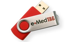 e•MedTAG Swivel Medical Alert ID