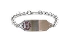 Stainless Steel Small Classic Allergy Bracelet
