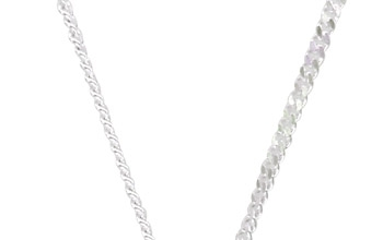 Infinity Medical ID Necklace with Silver Curb Chain full size