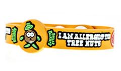 Beware Bandits Tree Nut Allergy Childrens Medical ID Bracelet