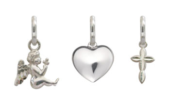 Stainless Steel Medical ID Accent Charms